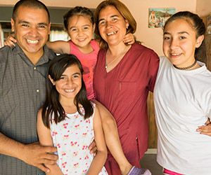 La familia Ibáñez – Benavidez