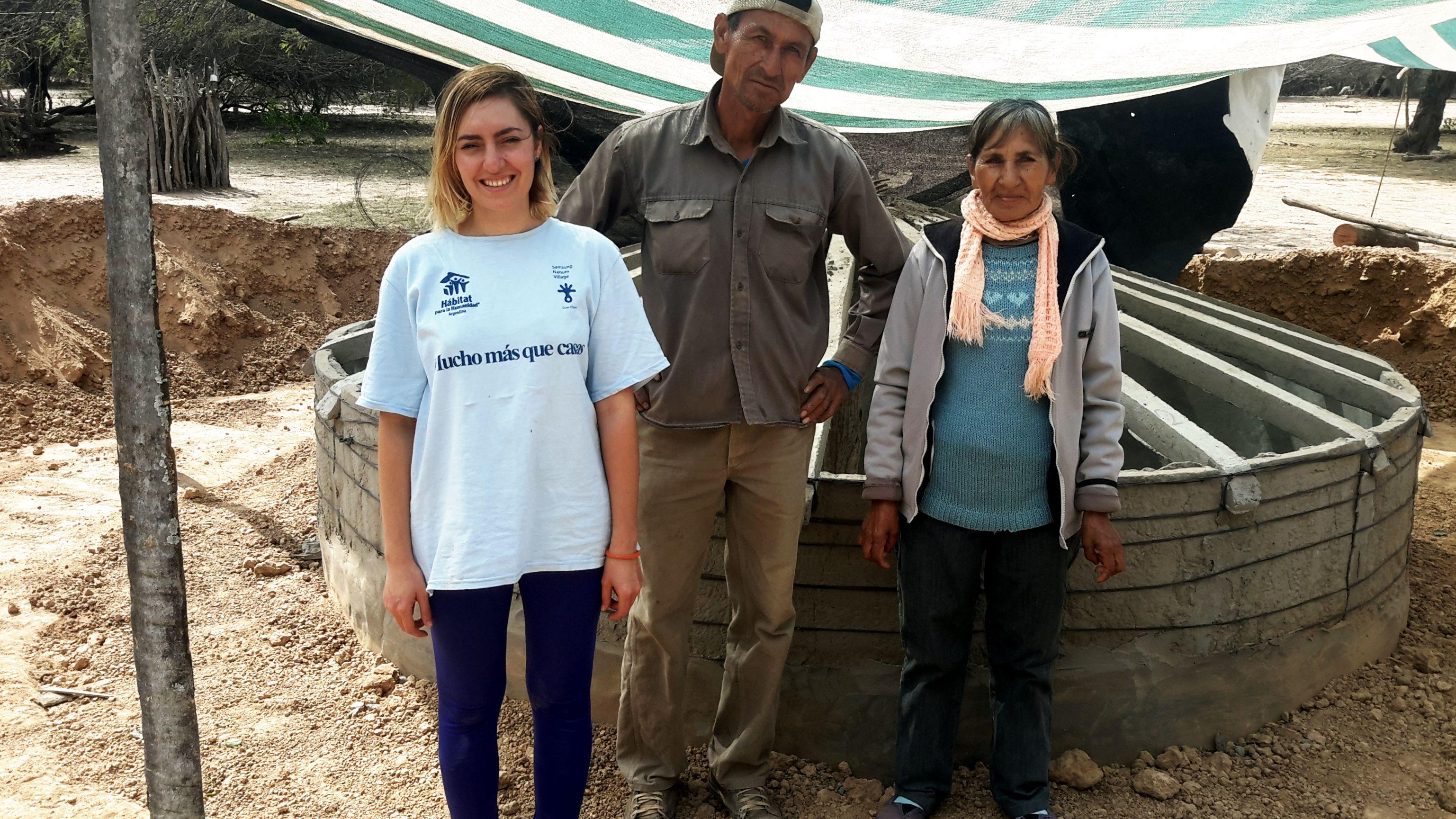Construir viviendas en torno al acceso al agua