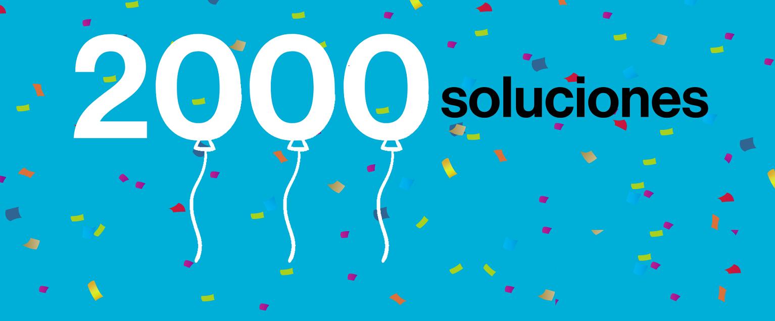 Celebramos  2.000 Soluciones habitacionales